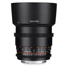 Lens Samyang 85mm T1.5 AS IF UMC VDSLR for Pentax K-1,K-3,K-70,K-50 etc. SALE