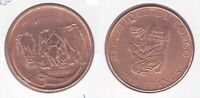 CONGO  - RARE COPPER 100 FRANCS PROOF COIN 1993 YEAR KM#20 ELEPHANT
