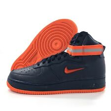 Nike Air Force 1 High Retro PRM QS NYC Finest Navy Blue AO1636-400 Mens 7.5-11.5