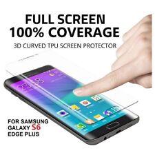 X2 plein écran incurvé 3D couvercle en plastique protecteur Samsung Galaxy S6 Edge + plus