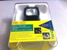 Sony Genuine HVL-10DC Camcorder Battery Video Flash Light For NP-F20 / F30 Japan