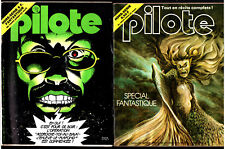 LOT 2 PILOTE HORS-SERIE n°32 & 56 BIS ¤ SPECIAL FANTASTIQUE SF ¤ CAZA