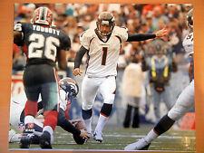 JASON ELAM Unsigned Denver Broncos 16x20 Photo - NFL Licensed Future HOF
