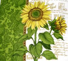 Kitchen Dish Towels Crochet Top -Listing #t313 Sunflowers