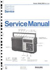 Philips  Original Service Manual für  90 AL 390