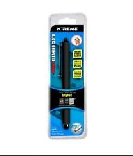 Xtreme Basic Touch Screen Stylus with Micro Fiber Cloth - Black
