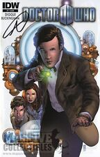 Doctor Who #1 IDW Vol 3 SIGNED by ANDY DIGGLE COA Midtown Comics