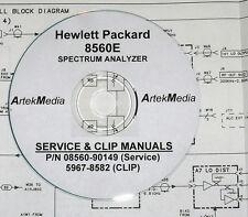 HP 8560E Service Manual & CLIP (Schematics) 2 Volumes
