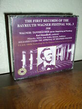 The First Records of the Bayreuth Wagner Festival Vol 3 (CD,1999,IMPORT,NEW)