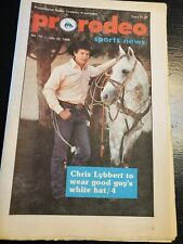 Pro Rodeo Sports News 1988 Lane Frost Red Rock Tuff Hedeman Cody Custer