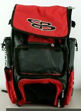 Boombah Baseball Softball Superpack Red Gray MISSING FRONT FLAP