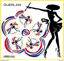 FRANCE 2020 SHEETLET   VALENTINE'S DAY FASHION GUERLAIN EXTRAORDINARY!