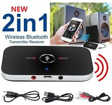 2 in 1 3,5mm Wireless Bluetooth Empfänger Sender Adapter Musik Audio Receiver