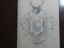 Zeichnungen Handsignierte von 1800-1899