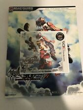 Kingdom Hearts 3D: Dream Drop Distance (3DS) + Strategy Guide - Brand New