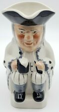 """Vintage TOBY JUG PITCHER-Staffordshire, England-6"""" Tall"""