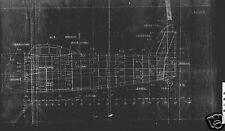 Kawanishi N1K-J Shiden Japanese Fighter Blueprint Plans WW2 VERY RARE Archive