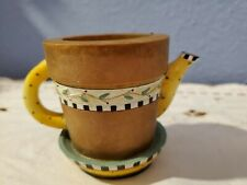 Our America Debbie Mumm Tea Pot Tealight Candle Holder