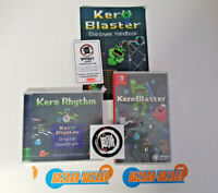 Kero Blaster Launch Edition Nintendo Switch [Audio CD Included, Region Free] NEW
