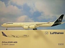 Herpa Wings 1:500  Airbus A340-600  Lufthansa D-AIHF  534192  Modellairport500