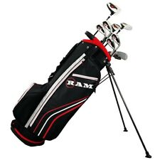 Ram Golf Accubar +1 Inch Men Right Graphite/Steel Golf Clubs Set Stiff Flex