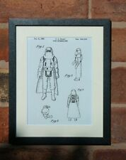 USA Patent Drawing STAR WARS FILM HOTH STORM TROOPER MOUNTED PRINT 1982 gift