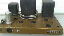 HeathKit  W-4 tube amp's[ pair] w/6l6 tubes ,working.