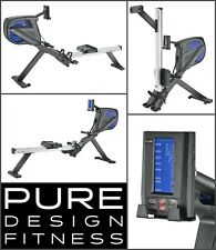 Pure Design PR7 Air / Magnetic Resistant Rower - NEW 2020 Model Rowing Machine