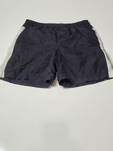 Nike Men's Trunks Mesh Lined Comfort Swimwear Casual Outdoor Size XL Black/White