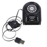 Flexible External Mini Vacuum Cooler Air Extract USB Notebook Laptop Cooling Fan