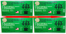 DIET HERBAL TEA EXTRA STRENGTH WEIGHT LOSS CONSTIPATION 4 BOX 72 BAG 3 BALLERINA