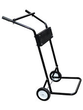 15HP or 85 LB Small Outboard Boat Steel Trolling Motor Stand Carrier Cart Dolly