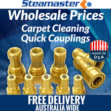 """Carpet Steam Cleaning Products Carpet Cleaning Quick Connect 5 Female & Male ¼"""""""