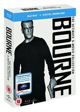 BOURNE - THE ULTIMATE 5-MOVIE COLLECTION  BLU RAY BOXSET  MATT DAMON