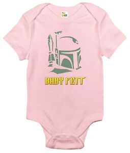 Baby Bodysuit - Baby Fett Baby Clothes for Infant Boys and Girls