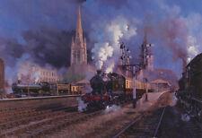 GWR CHELTENHAM FLYER Railway Engine Train à vapeur Fête des Pères Anniversaire Carte