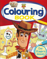 TOY STORY 4 COLOURING BOOK 30 PAGES TO DECORATE A4 PAPERBACK