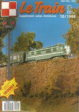 "LE TRAIN N°10 ""PICASSO"" / CHAUFFERIE HO DE FALLER / ""LE GLASKASTEN"" / BB 13000"