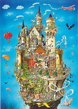 1000 pezzi Fumetto Puzzle Neuschwanstein Castello - rigida Commedia stile 05184