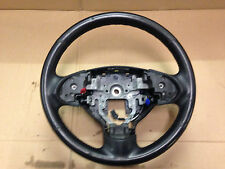 MITSUBISHI COLT CZ2  2009 STEERING WHEEL BLACK leather style