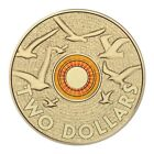 2015 ORANGE Remembrance Day Coin $2 Two Dollar Australian