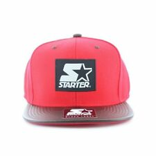 Starter - Label Red and Chocolate Snapback Sent Sameday*