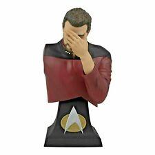 More details for sdcc 2020 exclusive star trek commander riker facepalm bust statue. brand new