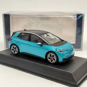 Norev 1/43 Volkswagen VW ID.3 Diecast Models Toys Car Edition Collection Green