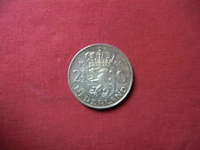 2 1/2 Gulden Niederlande 1960 eine wunderschöne Münze in guter Erhaltung