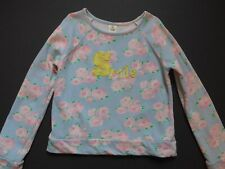 Tucker and Tate Girls Blue, Pink, Smile Floral Sweatshirt Sz 8/10 from Nordstrom