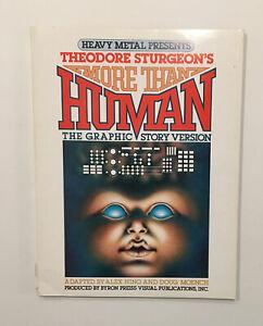 HEAVY METAL MORE THAN HUMAN Theodore sturgeon's Graphic Story MAGAZINE '78 BOOK