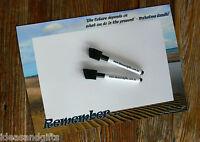 A4 Beach Gandhi Quote Family Office Fridge Memo Reminder Magnet Whiteboard 2pens