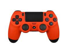 Custom Soft Touch Orange Sony Dualshock Playstation PS4 Wireless Controller