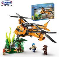 Bausteine Xingbao 15003 Spielzeug Dschungel Flugzeuge Technologie 720PCS